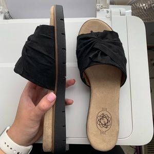 Shoes - BRAND NEW: Suede Sandals